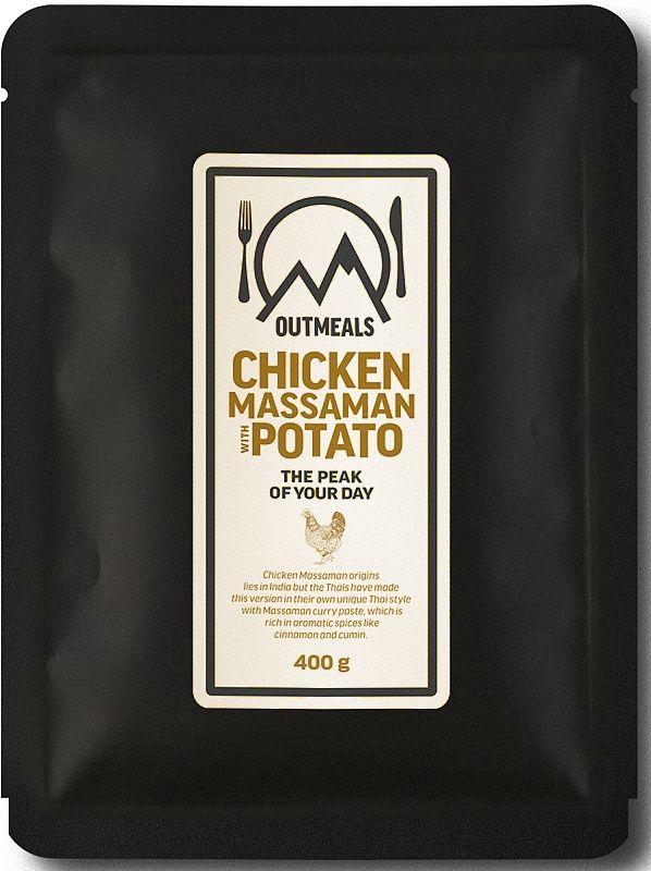 OUTMEALS Kuracie massaman so zemiakmi