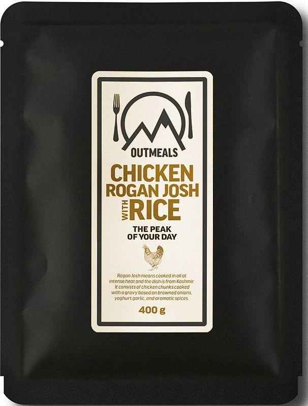 OUTMEALS Kuracie Rogan Rosh s ryžou
