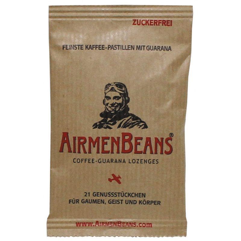 Energetické cukríky AirmenBeans (kofeín+guarana), 21ks