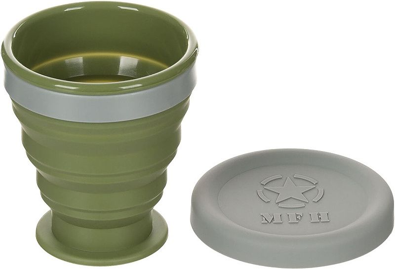MFH Skladací hrnček - zelený (33399)