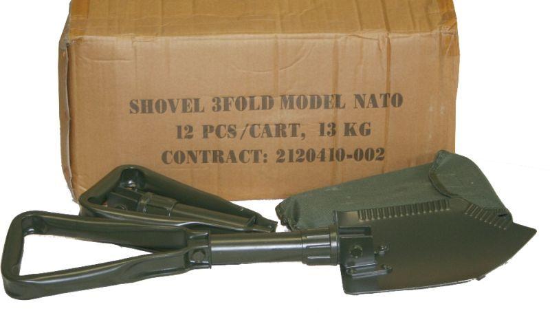 Poľná lopatka skladacia typ NATO