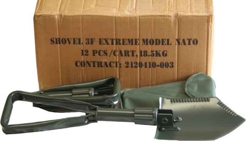 Poľná lopatka skladacia typ NATO Extrém