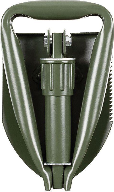 MFH Skladacia lopatka Mini Folding, 3 dielna - zelená (27034)