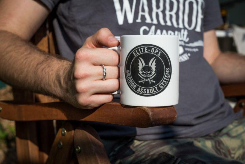 Warrior Elite Ops Mug with Round Logo