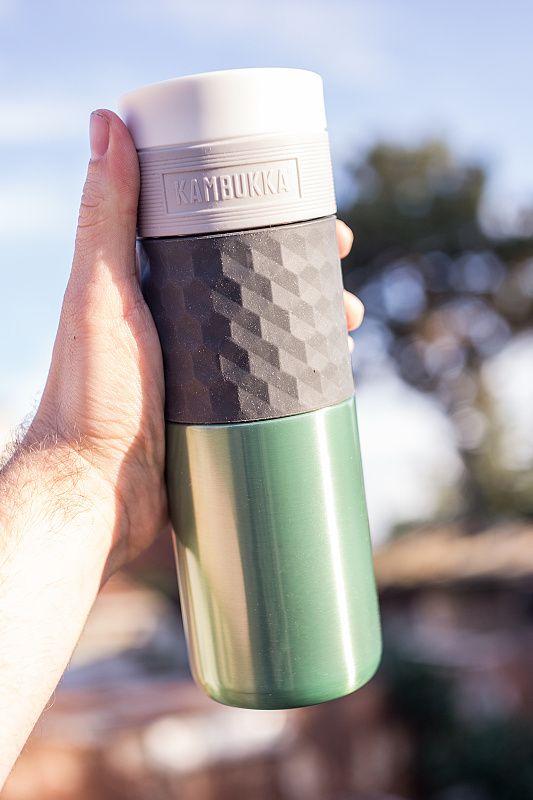 KAMBUKKA Termohrnček Etna Grip 0,5L - zelený