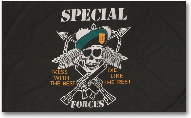 MILTEC Zástava US SPEC.FORCES, (16789000)