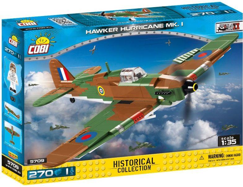 COBI Stavebnica WW2 Hawker Hurricane Mk I (COBI-5709)