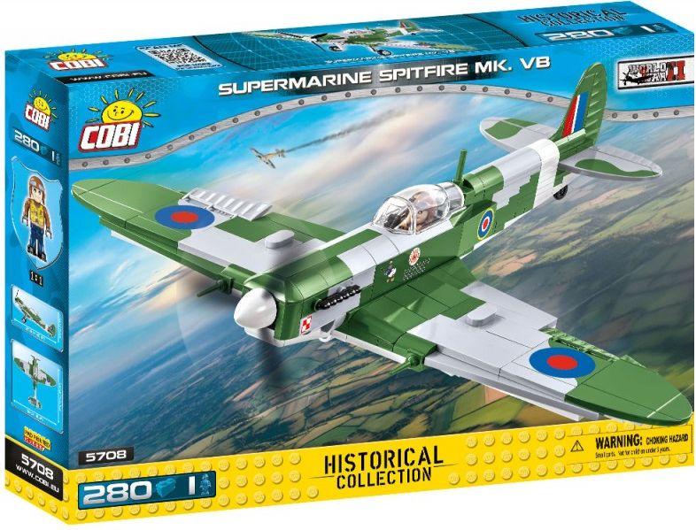 COBI Stavebnica WW2 Supermarine Spitfire Mk VB (COBI-5708)