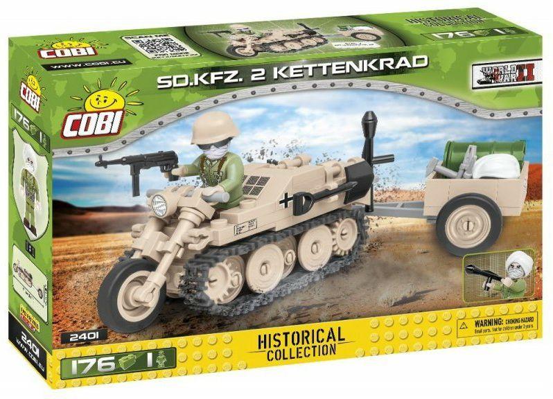 COBI Stavebnica WW2 Sd. Kfz. 2 Kettenkrad (COBI-2401)