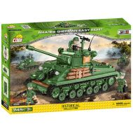 COBI Stavebnica WW2 M4A3E8 Sherman Easy Eight (COBI-2533)