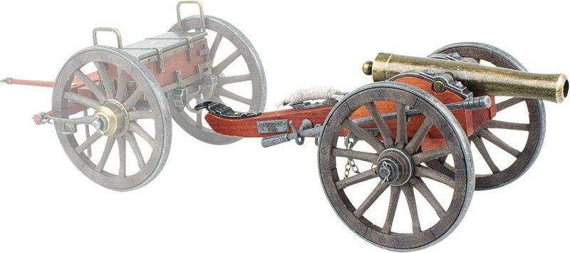 DENIX Model Civil War Confederate Cannon (DX491)