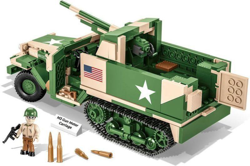 COBI Stavebnica WW2 M3 Gun Motor Carriage (COBI-2535)
