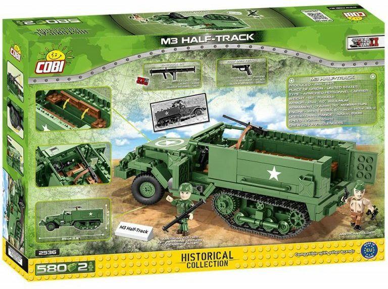 COBI Stavebnica WW2 M3 Half-Track (COBI-2536)
