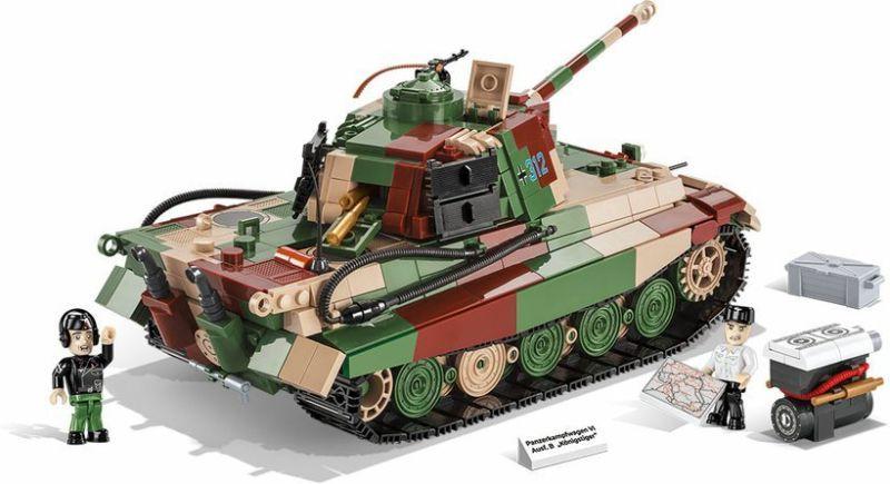 COBI Stavebnica WW2 PzKpfw VI Ausf. B Konigstiger (COBI-2540)