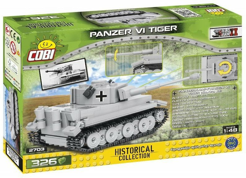 COBI Stavebnica WW2 Panzer VI Tiger (COBI-2703)