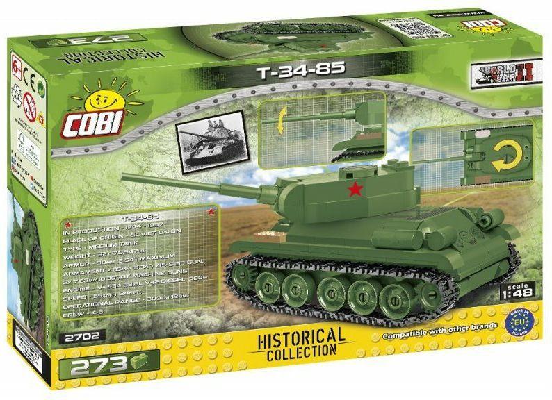 COBI Stavebnica WW2 T-34/85 (COBI-2702)