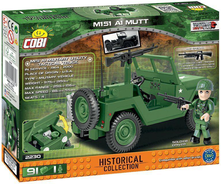 COBI Stavebnica VW M151 A1 MUTT (COBI-2230)