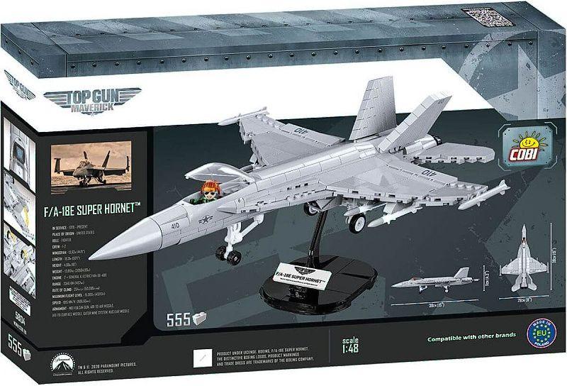 COBI Stavebnica TOP GUN F/A-18E Super Hornet 555k (COBI-5804)