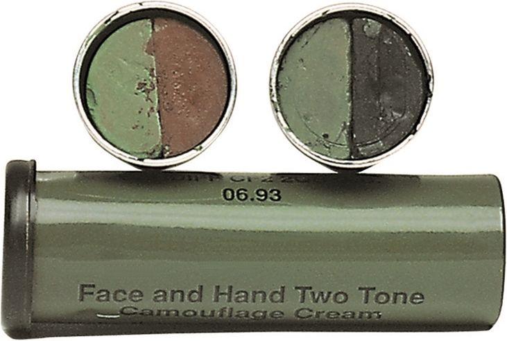MILTEC Maskovacie šminky na tvár - olivová/hnedá, (16336000)