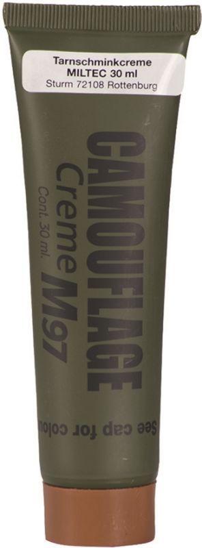 MILTEC Maskovacie šminky NATO na tvár - hnedá, (16331009)