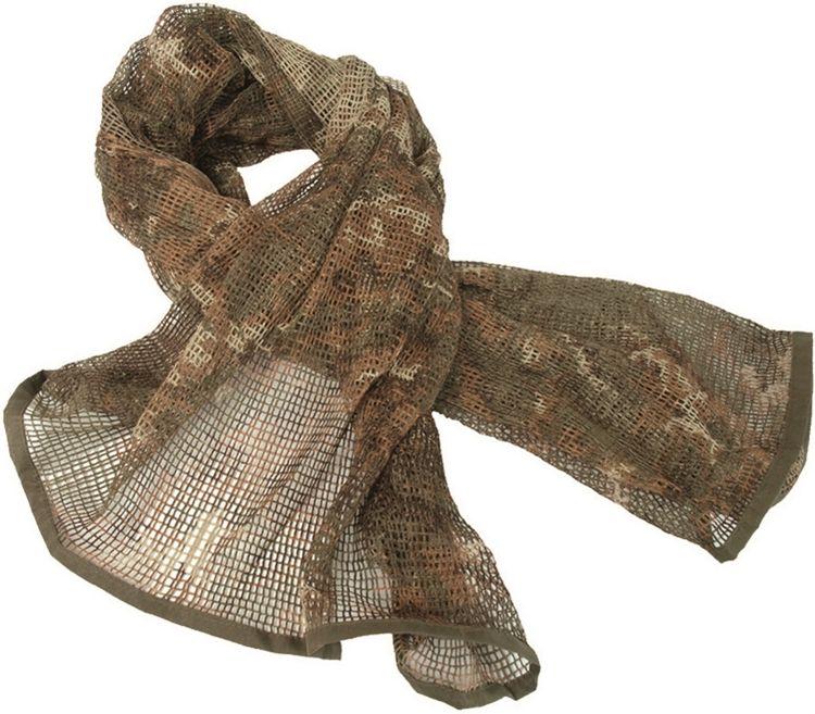 MILTEC Sieťovaná maskovacia šála - vegetato, (12625042)