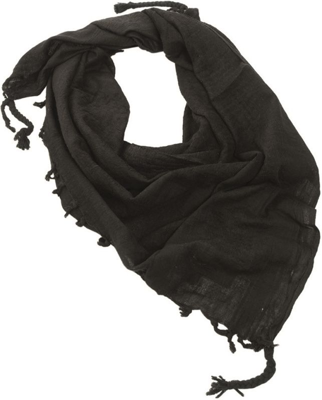 MILTEC Shemag UNI - čierny, (12618000)