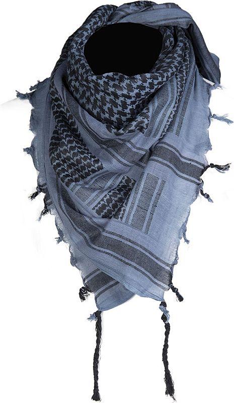 MILTEC Shemag  - modrý/čierny (12619400)