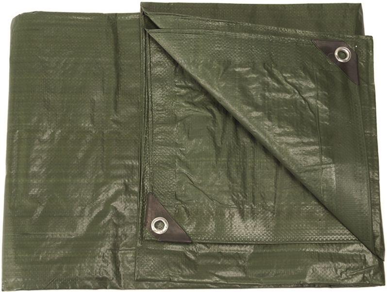 MILTEC Viacúčelová plachta PE 2x3m - olivová, (14240001)