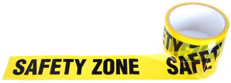"""Ohraničujúca páska """"SAFETY"""" - žltá, (46936499A)"""