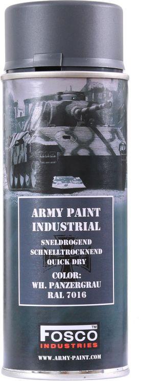 FOSCO Kamuflážna farba na zbraň, sprej 400ml - panzergrau / panzer šedá, (469312)