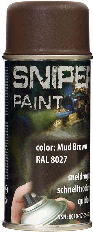 FOSCO Kamuflážna farba na zbraň, sprej 150ml - brown / hnedá, (469313)