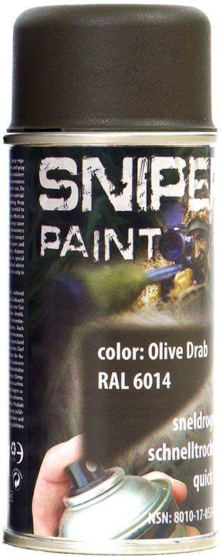 FOSCO Kamuflážna farba na zbraň, sprej 150ml - olive drab / olivová, (469313)