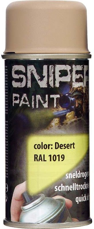 FOSCO Kamuflážna farba na zbraň, sprej 150ml - desert / púštna, (469313)