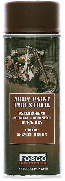 FOSCO Kamuflážna farba na zbraň, sprej 400ml - service brown / hnedá