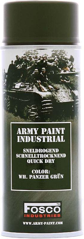 FOSCO Kamuflážna farba na zbraň, sprej 400ml - panzer grun / zelená