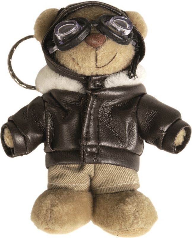 "MilTec Kľúčenka Plyšový medveď ""Pilot"""
