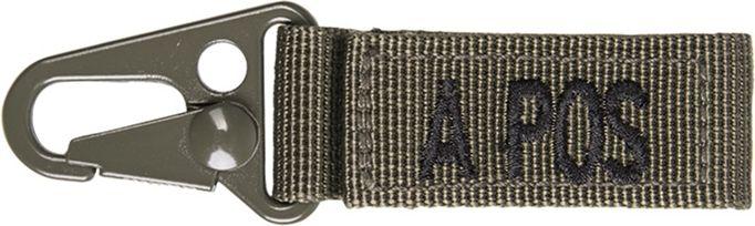 MILTEC prívesok na kľúče A POS - olivový, (15917101)