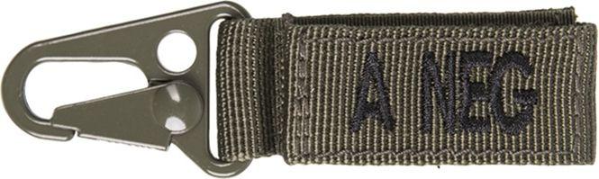 MILTEC prívesok na kľúče A NEG - olivový, (15917201)