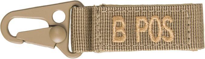 MILTEC prívesok na kľúče B POS - coyote, (15917305)