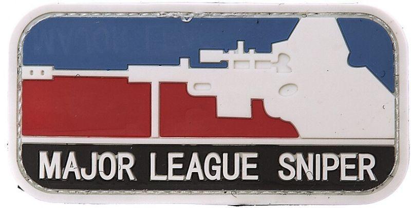 3D PVC Nášivka/Patch Major Sniper - farebná, (444110-357099A)