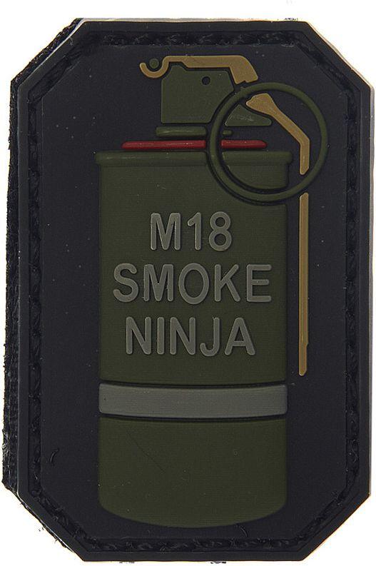 3D PVC Nášivka/Patch M-18 smoke ninja A, (444110-3702)