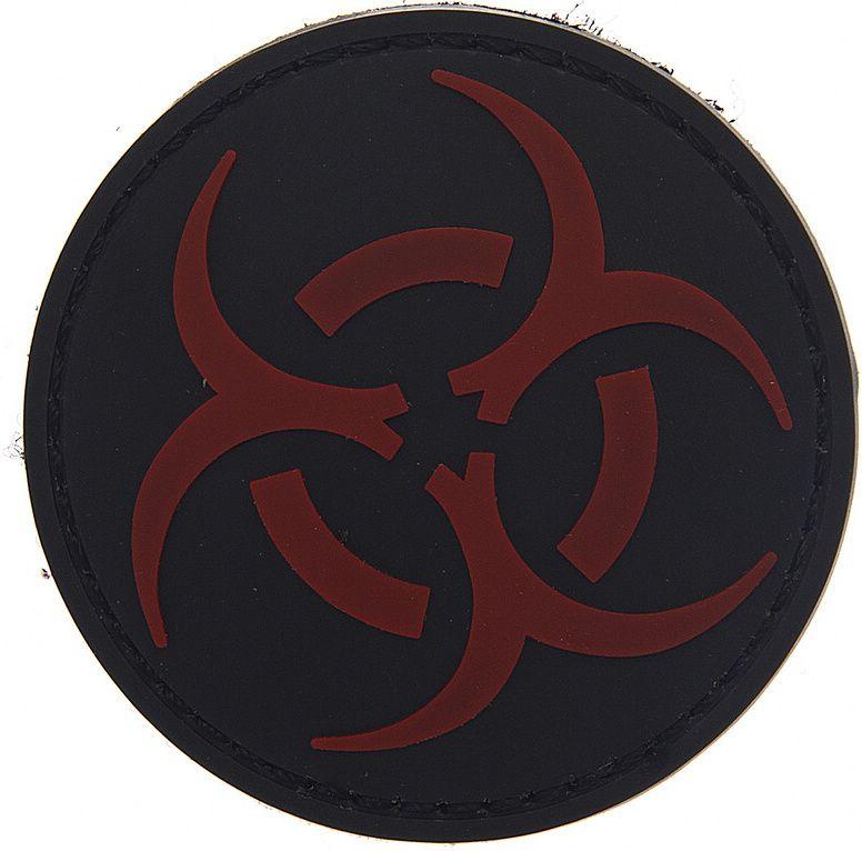 3D PVC Nášivka/Patch Resident Evil - čierna, (444150-3721)