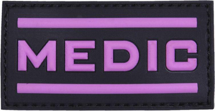 3D PVC Nášivka/Patch Medic - ružová, (444130-5278)