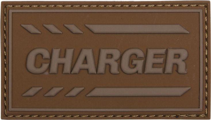 3D PVC Nášivka/Patch Charger - coyote, (444130-5250)
