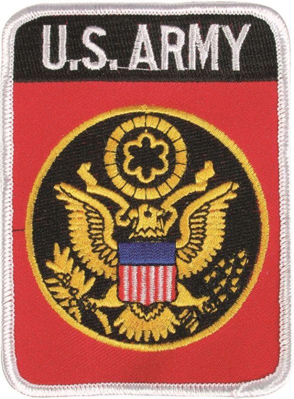 MILTEC Textilná Nášivka/Patch US ARMY s logom, (16855300)