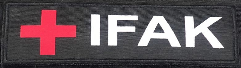 SPECIAL GEAR  Nášivka IFAK - čierna