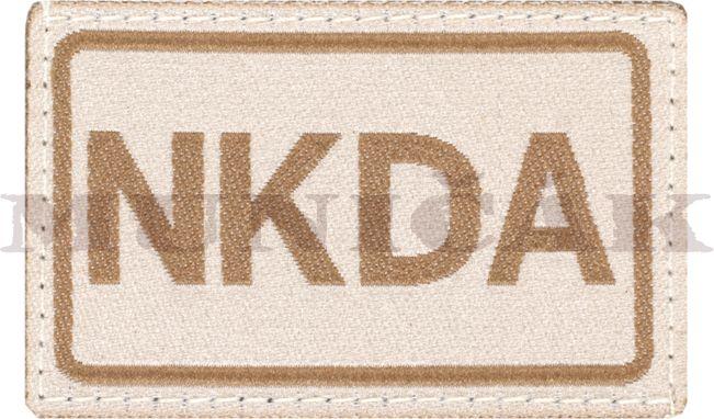 CLAW GEAR Textilná Nášivka/Patch NKDA - desert, (18429)