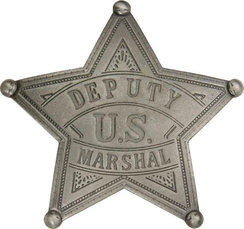 Odznak Old West U.S. Deputy Marshal