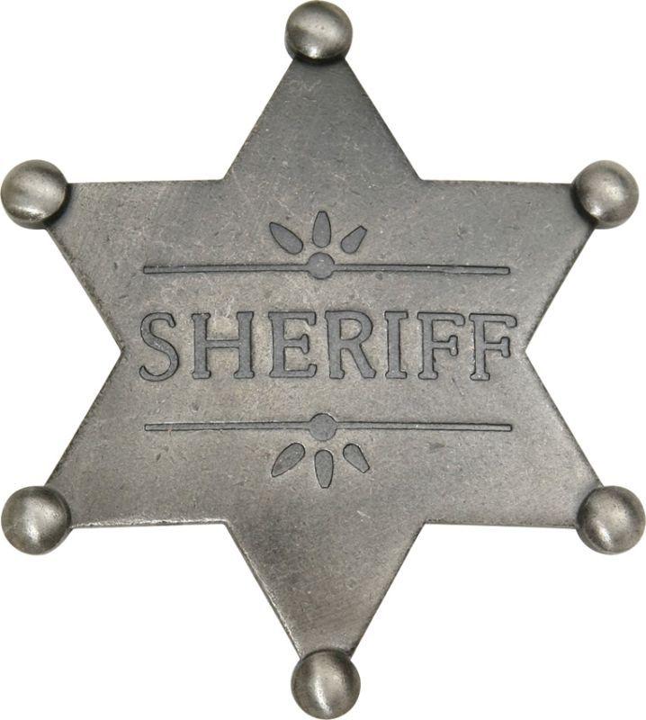 Odznak Old West Sheriff