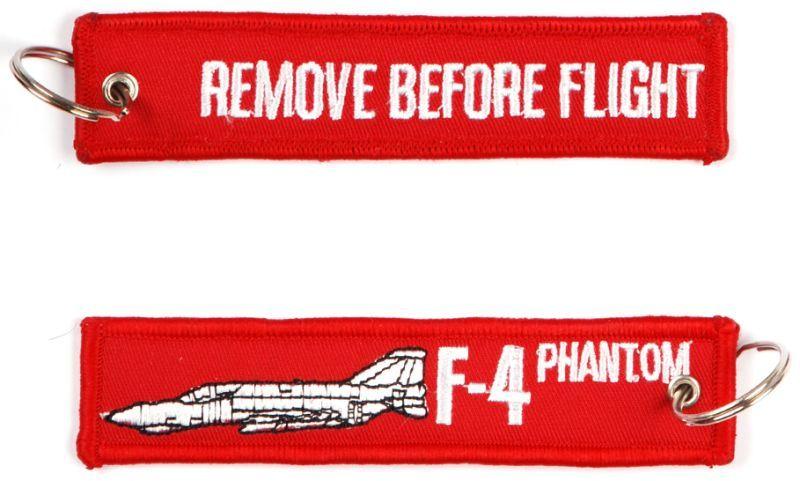 Kľúčenka Remove before flight + F-4